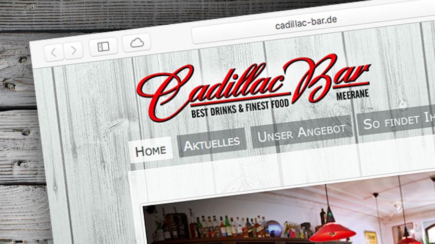 Die Cadillac Bar hat eine neue Website!